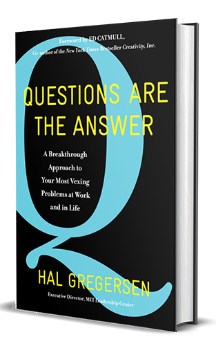question are the answer
