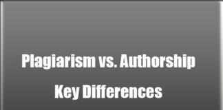 Plagiarism vs. Authorship: Key Differences